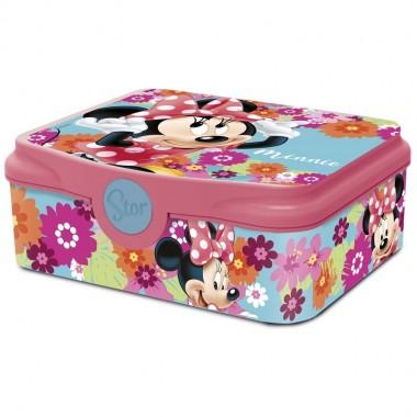 Caixa para lanche / Sandwicheira - Minnie