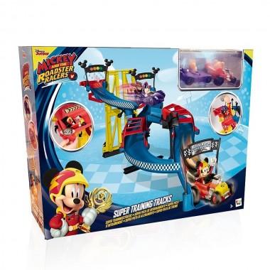 Super Pista de Corridas - Mickey e os Superpilotos