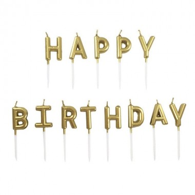 13 Velas de Aniversário - Happy Birthday