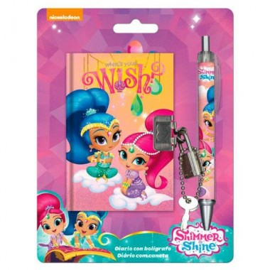 Diário com caneta Minnie