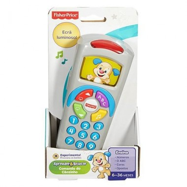 Comando de TV Aprender e Brincar - Fisher Price