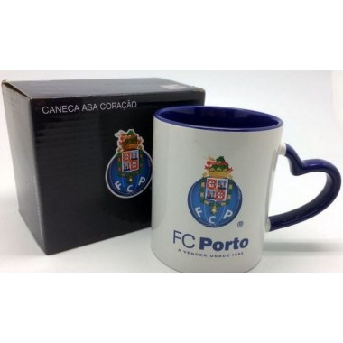 Caneca asa coração FC Porto