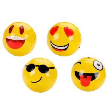 Bola de futebol Emoji / Smile
