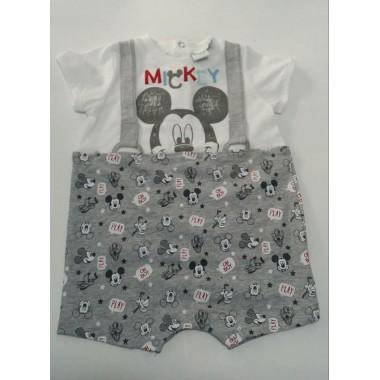 Jardineiras Bebé -  Mickey