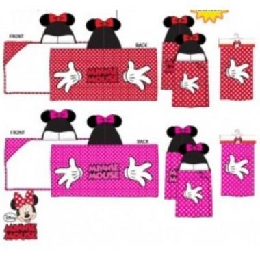 Toalha de praia / Poncho Minnie Mouse