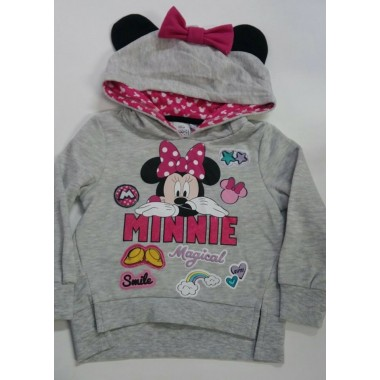 Sweat / Camisola com carapuço Minnie Mouse
