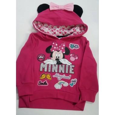 Sweat / Camisola com carapuço Minnie Mouse