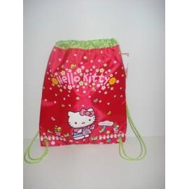 Saco/Mochila Hello Kitty
