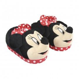 Pantufas 3 D Minnie Mouse