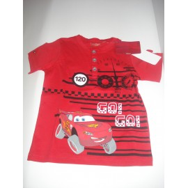 T-shirt Faísca Mcqueen