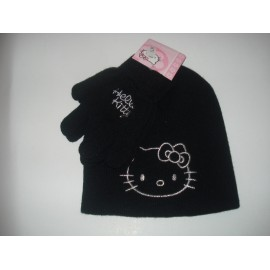 Gorro + Luvas - Hello Kitty