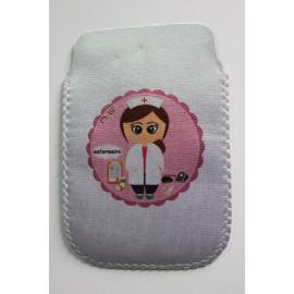 Bolsa Telemóvel/porta-canetas Enfermeira