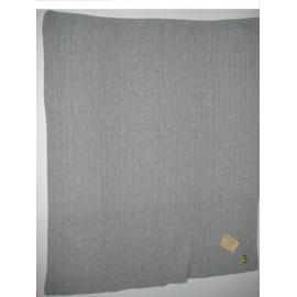 Manta Dona Manta tricotada de lã c/entrelaçados