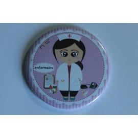 Espelho Personalizado -Enfermeira