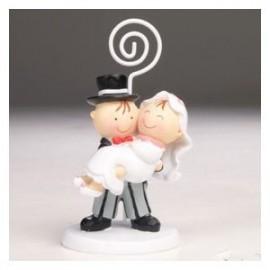 Porta foto ou cartão Noivos PIT E PITTA noiva ao colo