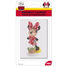 Vela de Aniversário Minnie Mouse