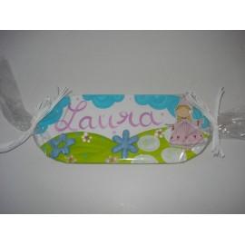 Placa de Porta nome Laura
