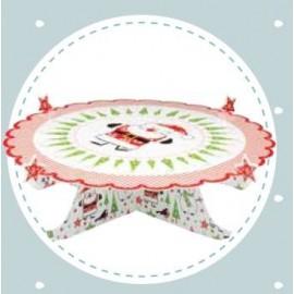 Suporte / Prato para cupcakes / bolo para época Natalicia