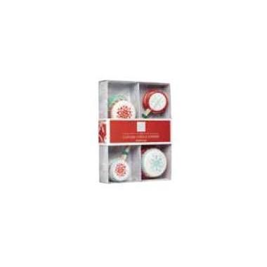 Embalagem de 24 decorações para Cupcake - Natal