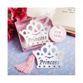 """Marcador de Livro """"Princesa / Príncipe"""""""