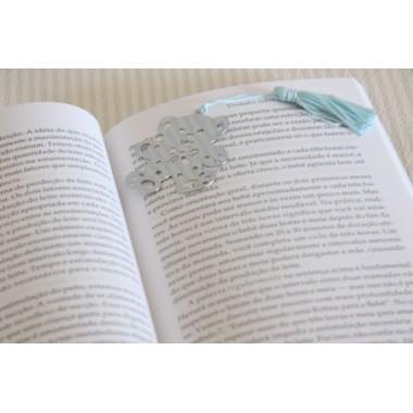 """Marcador de Livros """"Ursinho Rosa"""""""