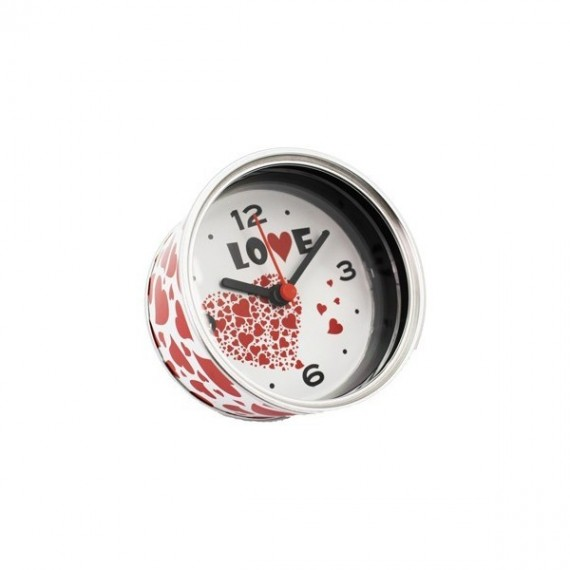 """Relógio """"Amor"""" - Aluminio"""