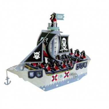 Expositor - Barco Pirata