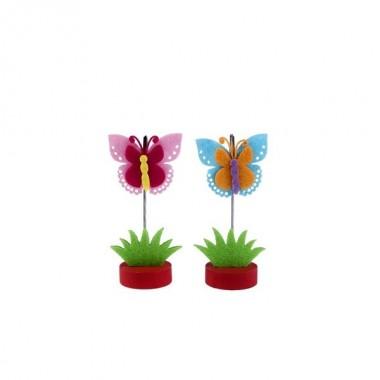 Clip Porta-Notas - Mariposa