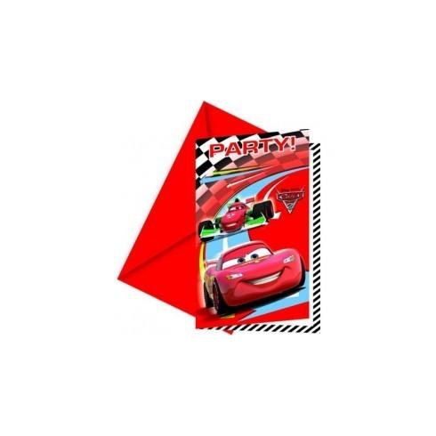 Convites - Cars