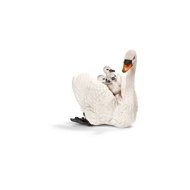 Cisne Branco com tenaz- Schleich