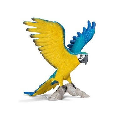 Arara Azul e Amarela- Schleich