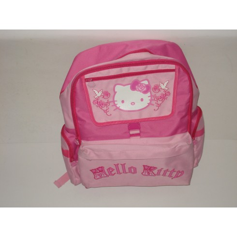 Mochila Escolar Hello Kitty