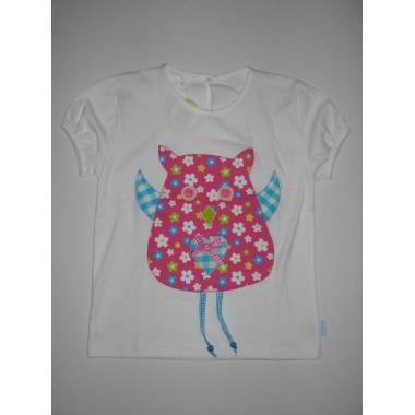 T-Shirt Patchwork  Mocho - 6 anos