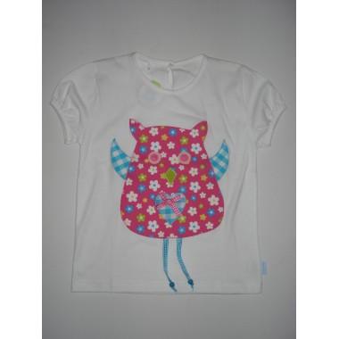 T-Shirt Patchwork  Mocho - 6 anos