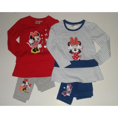 Conjunto Camisola/Sweat + Legging  Minnie Mouse