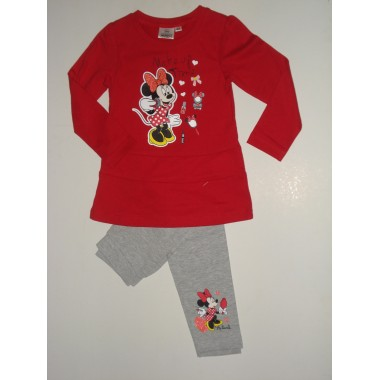 Conjunto Camisola/Sweat + Legging  Minnie Mouse
