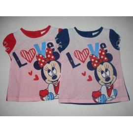 T-shirt Bebé Minnie Mouse