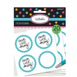Embalagem 20 etiquetas