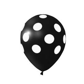 """Balão """"Polka"""" c/ bolinhas"""
