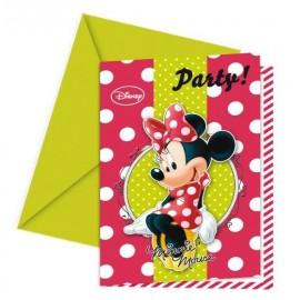 Convites Minnie Mouse