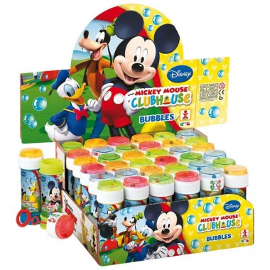 Bolas de Sabão Mickey Mouse