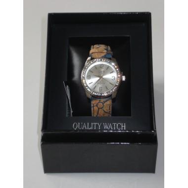 Relógio c/ bracelete de cortiça