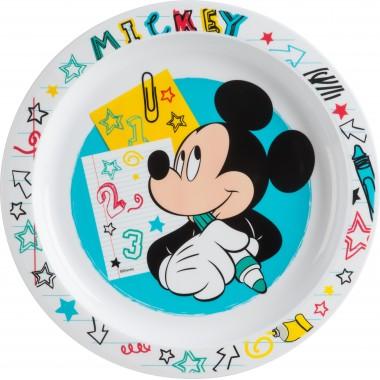 Prato plástico Mickey