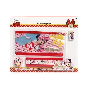 Conjunto Escolar - Minnie